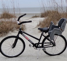 adult bike with child seat